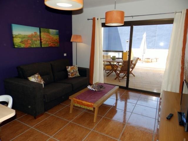 living room - Apartment with big terace, Golf del Sur, Tenerife