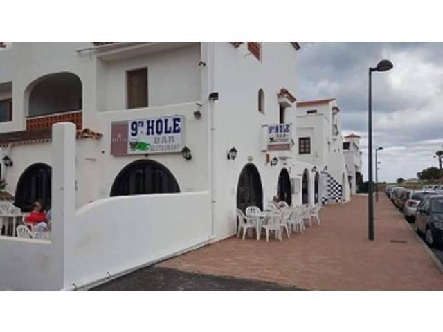 9th Hole bar - Fairways Club, Amarilla Golf, Tenerife