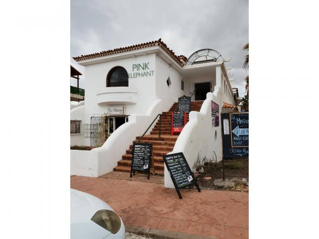 The Pink Elephant bar - Fairways Club, Amarilla Golf, Tenerife